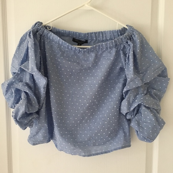 Romeo & Juliet Couture Tops - Off the shoulder top